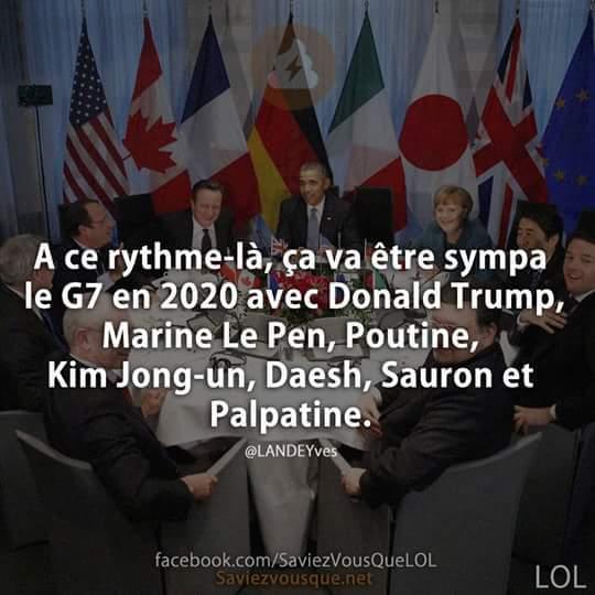 Le G7 - meme