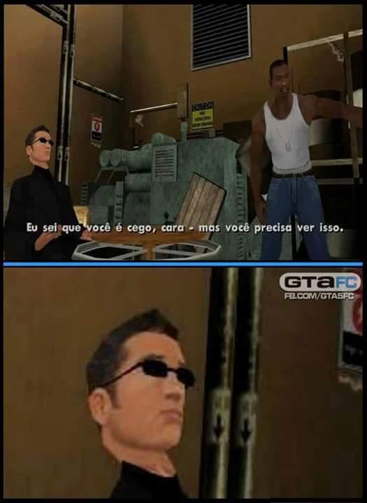 Porra CJ.... - meme