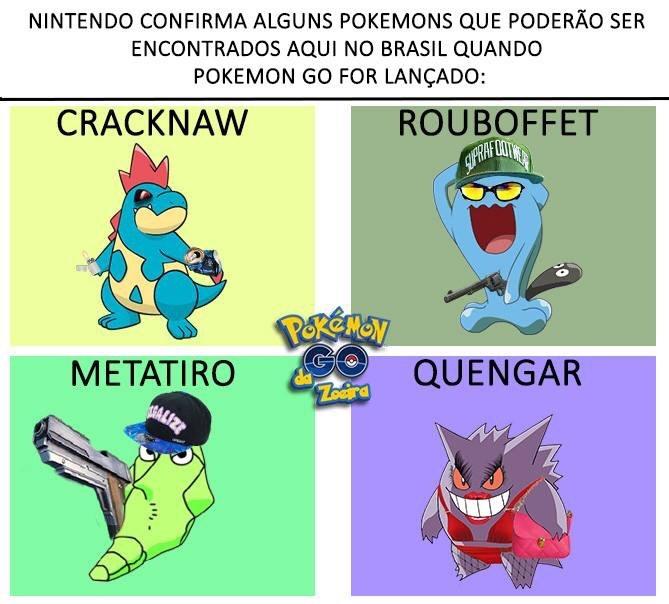 Pokemon GoBr #3 - meme