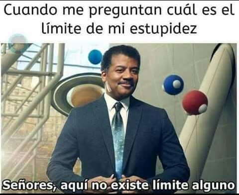 No hay límite - meme