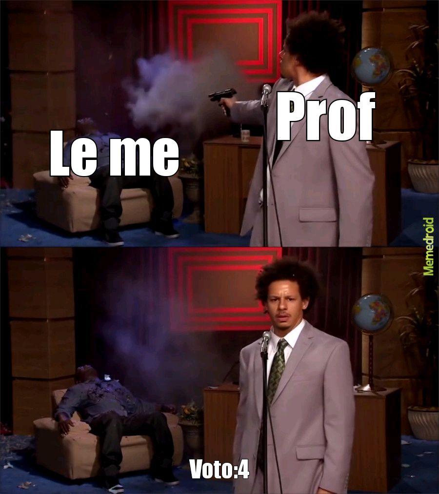 Interrogazione - meme