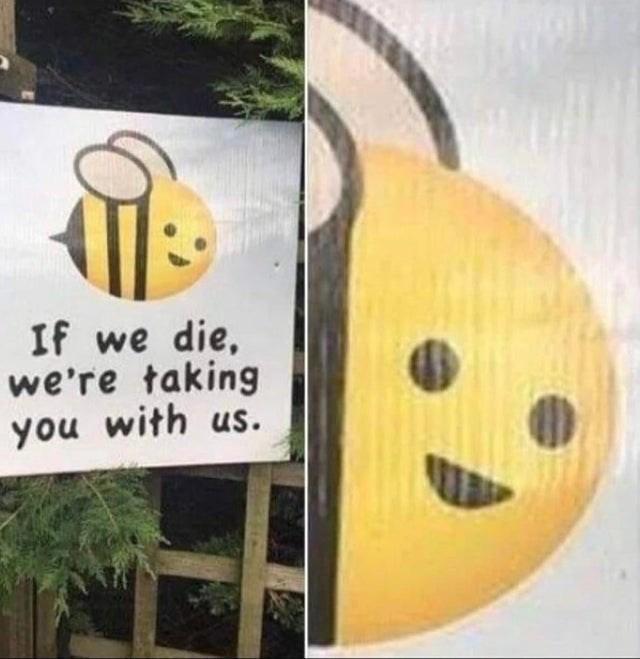 blursed_bees - meme