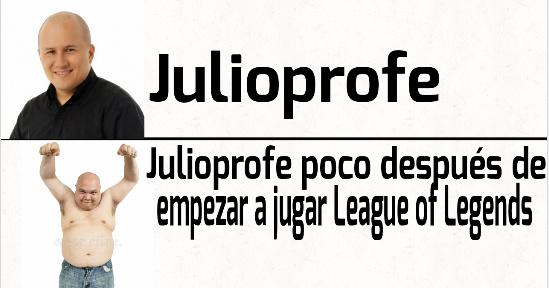 Pobre Julioprofe ha arruinao su vida - meme