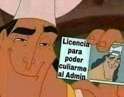 licencia - meme