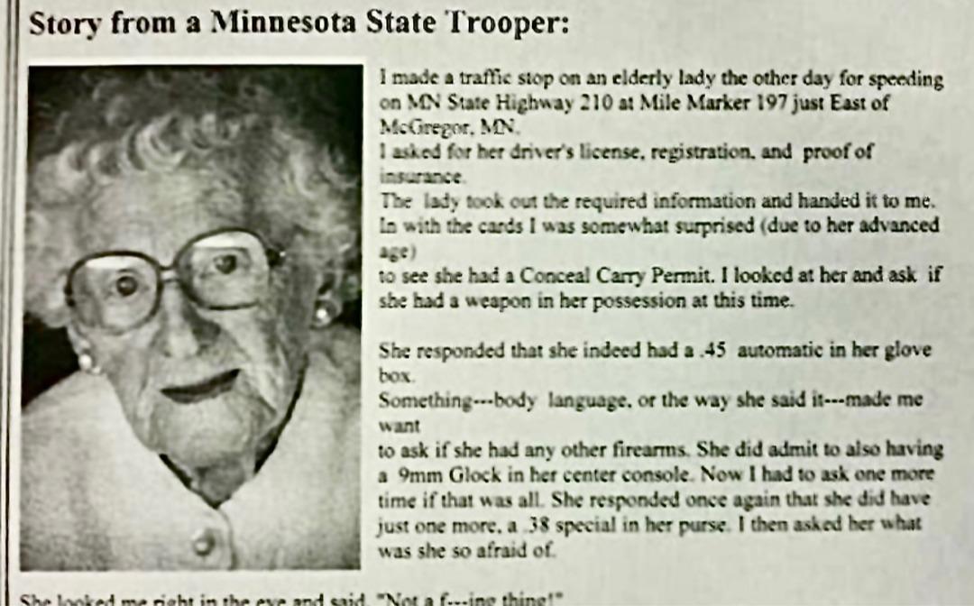 Based Grandma! - meme