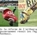 Les nouvelles règles du foot