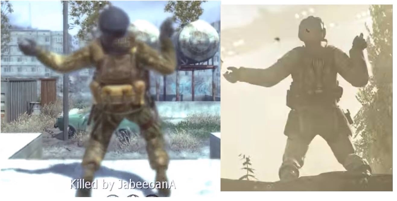 they've kept the same death animation for 9 years - meme