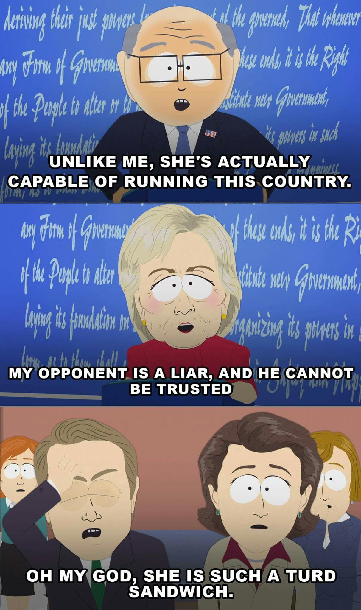 The best south Park memes :) Memedroid