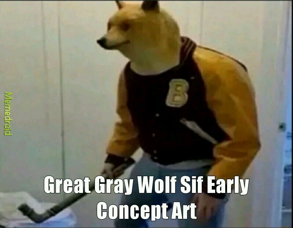 Axe Man Doggo... - meme