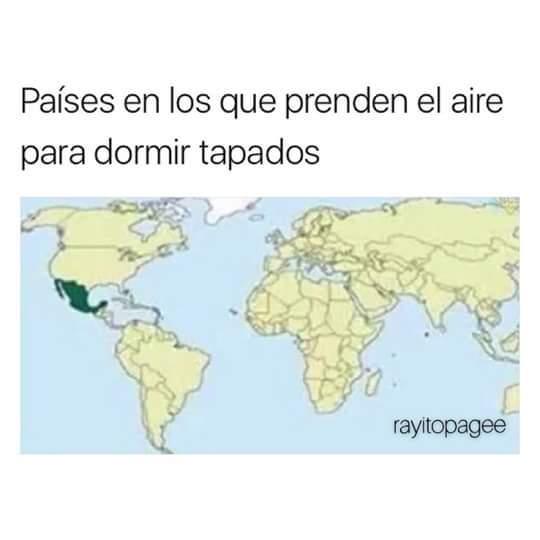En Mexicali el lunes y martes estaremos a 50*grados - meme