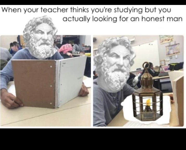 Diogenes was the best - meme