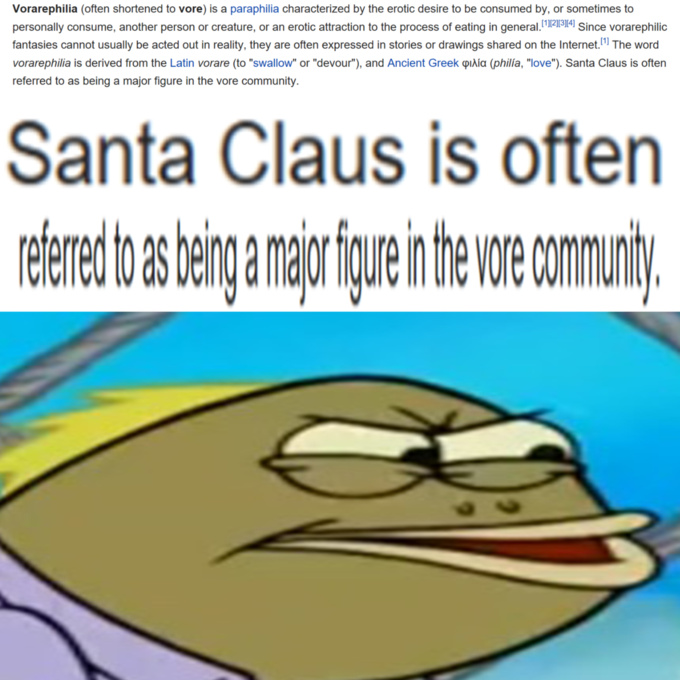 Christmas is cancelled and it's the Interet's fault - meme