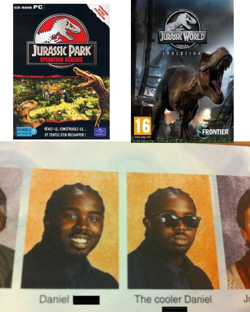 Ambos juegos estan geniales - meme