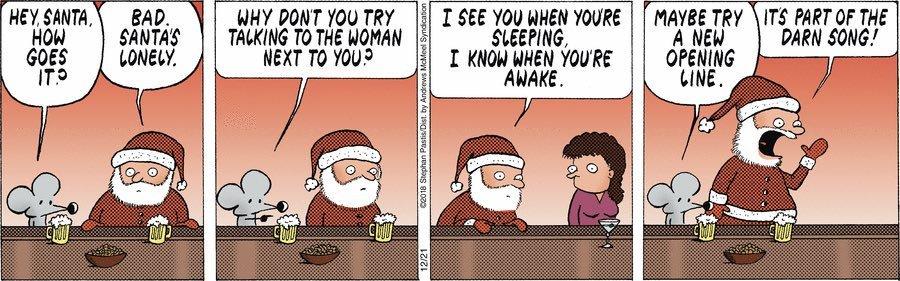 Santa's dilemma - meme