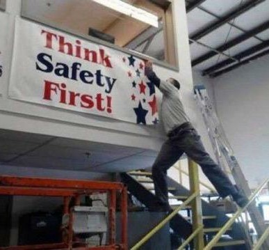 Safety - meme