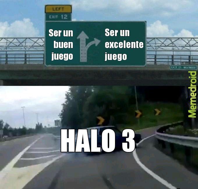 Halo:Lo mekor de lo mejory la unica razon por la que es mejor xbox - meme