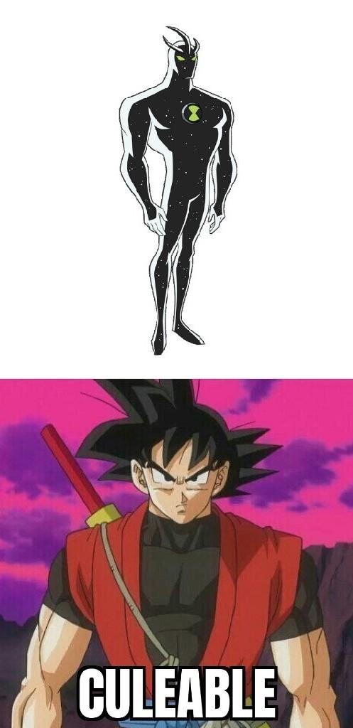 •••••••••••••••••••••••••••Por si no saben, está es versión Goku llamada Goku Xeno la más poderosa post: aceptenlo - meme