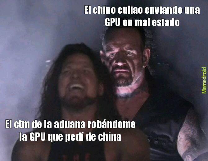Aduanas chupapico - meme