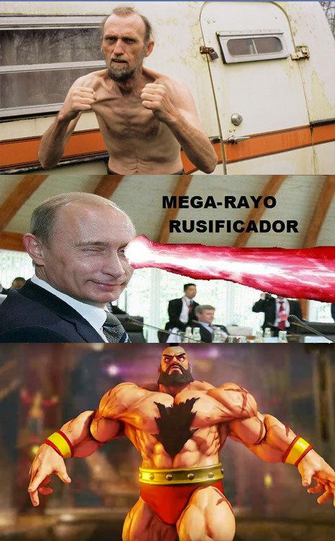 El poder de Rusia :v - meme