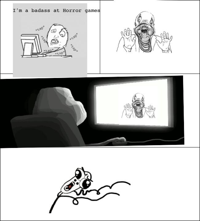 horror games - meme