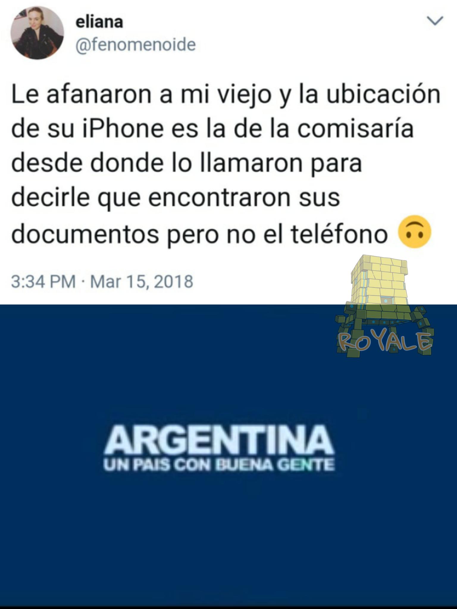 Culpa de Macri - meme