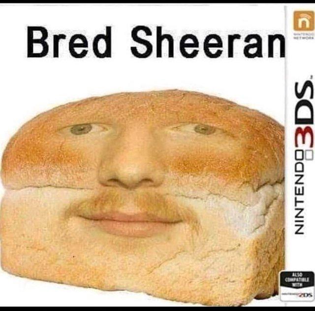 Bred Sheeran - meme
