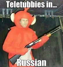Teletubbies in... - meme