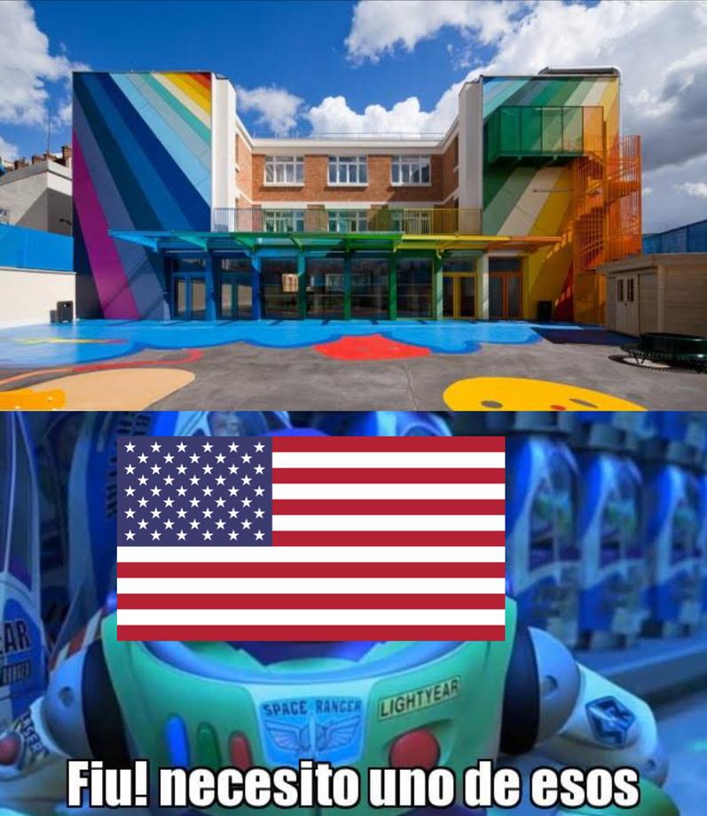 La escuela con la mejor educación de EE.UU. - meme