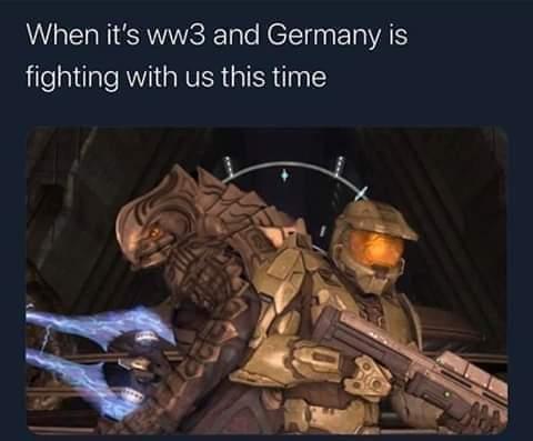 Halo infinite ww3 - meme