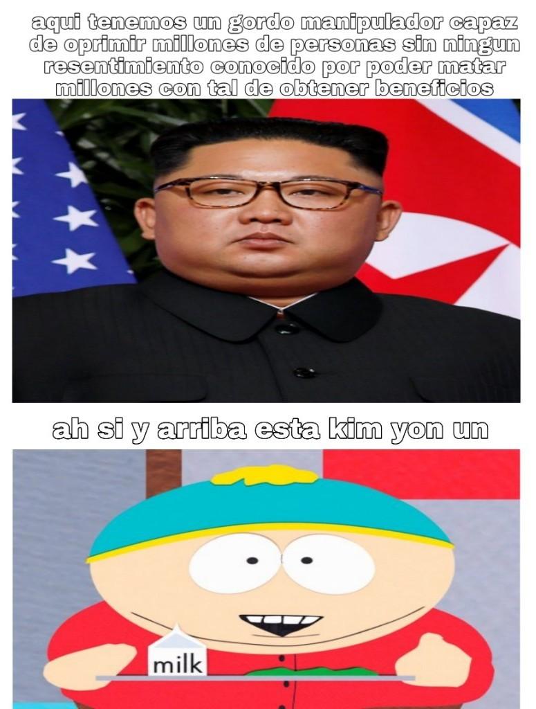 Cartman seria capaz de acabar con toda la etnica judia para obtener un helado de fresa,y luegi quejarse de que no le gusta el helado de fresa - meme