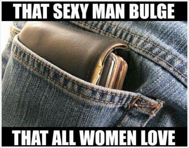 Women love them bulges - meme