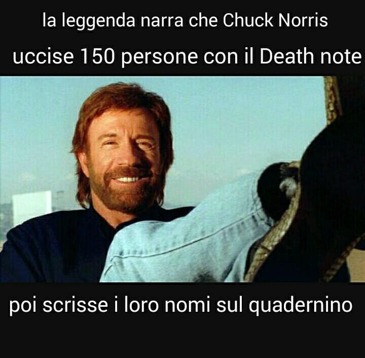 W Chuck Norris - meme