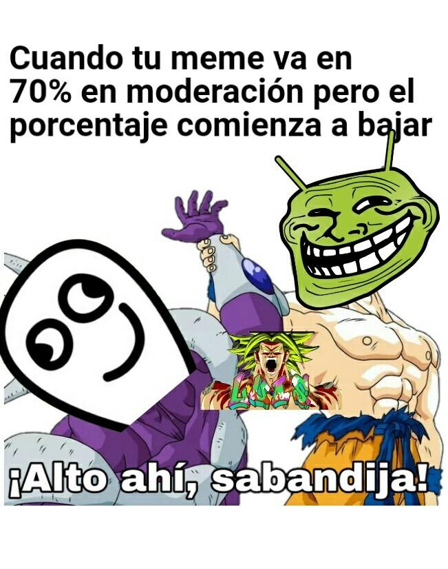 Pinshis moderadores :'v - meme