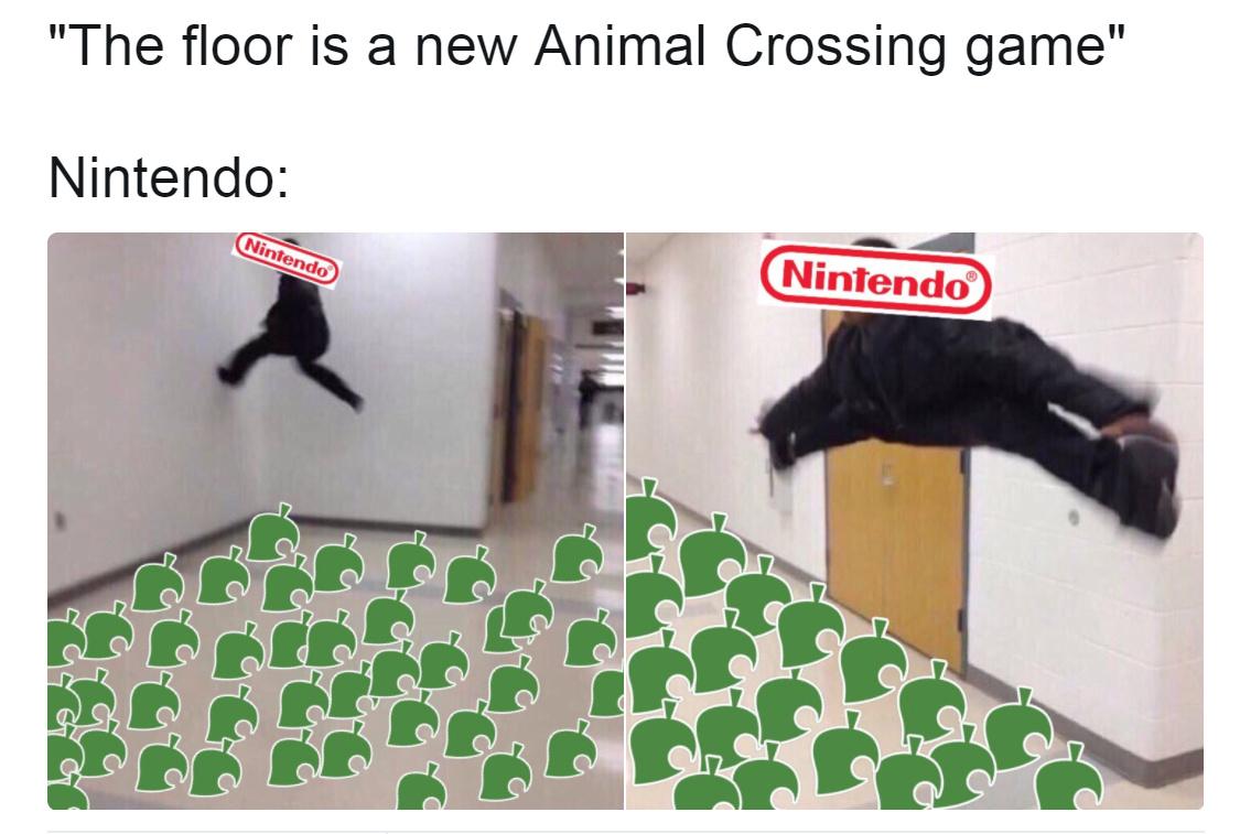 No new animal crossing :( - meme