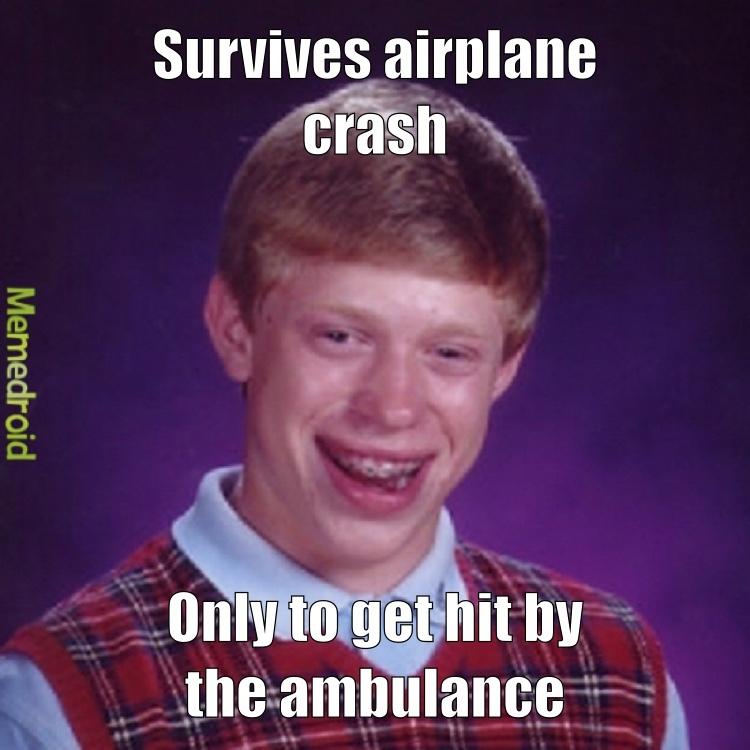 Bad Luck Brian - meme