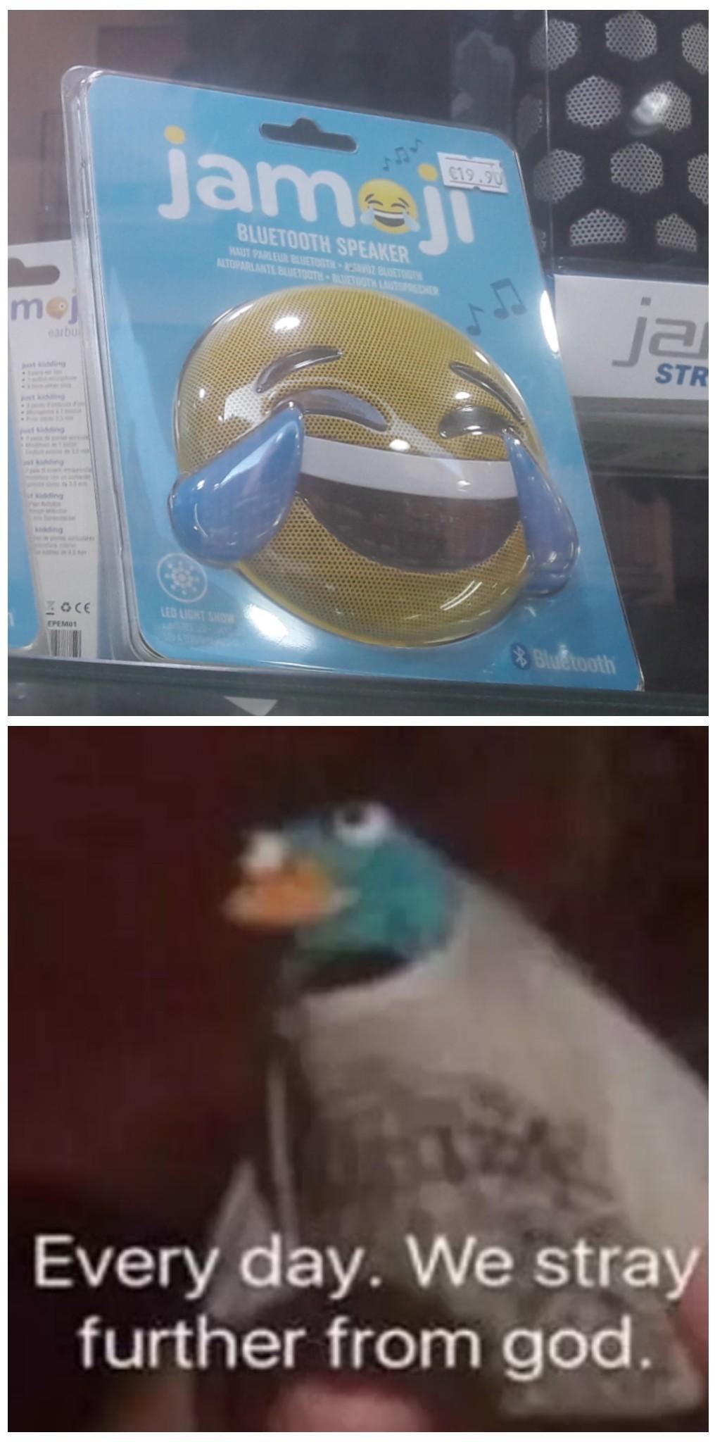 Emoji speaker... - meme