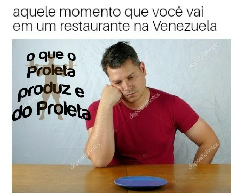 Restaurante na Venezuela - meme