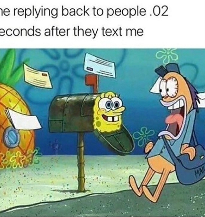 And they leave me on seen - meme