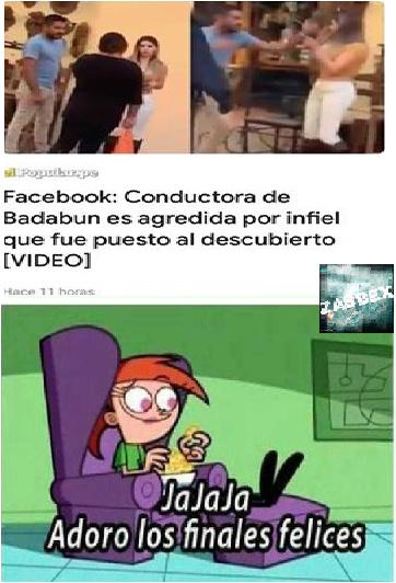 Hecho en Paint - PD: #BadabunCáncer - meme