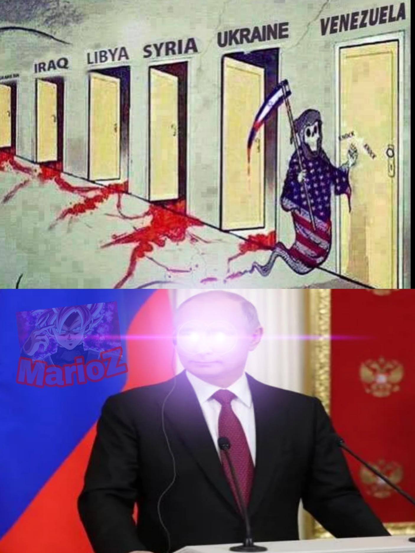 Putin se va a enojar - meme