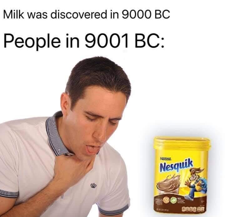 Sniff nesquik fuck bitches - meme