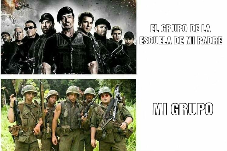 TROPIC THUNDER - meme