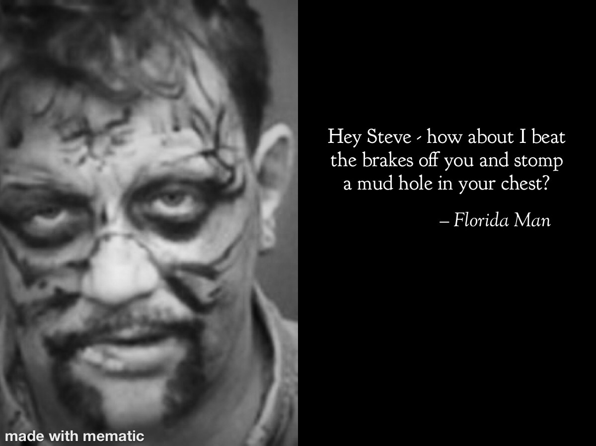 Florida man - meme