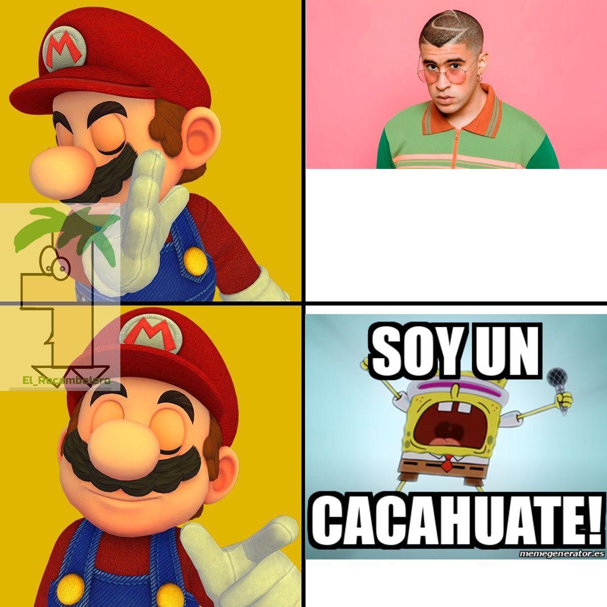 Mario drake - meme