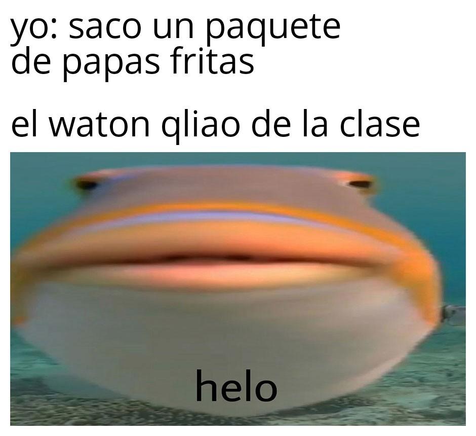 El tipico weon de la clase - meme