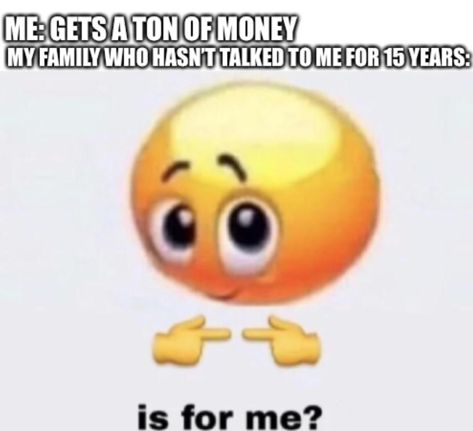 No. It isn't - meme