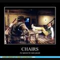 Quand les chaises ne sont qu'optionnelles pour certaines personnes...