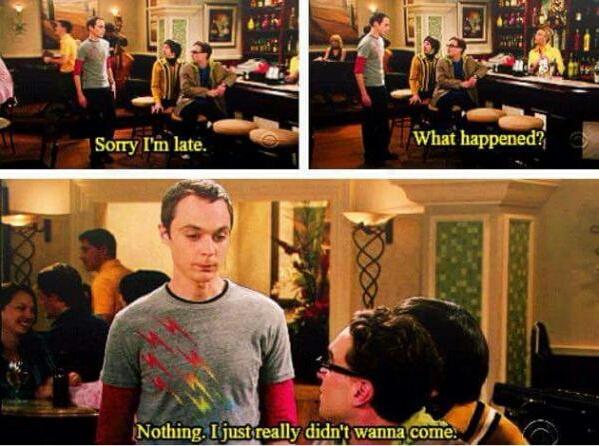 Oh Sheldon - meme