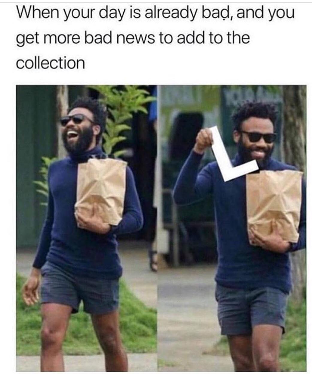 Title has a full bag - meme