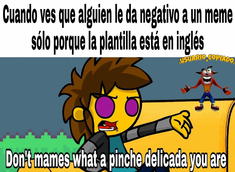 Yo no speak españolo :stonerstanley: - meme